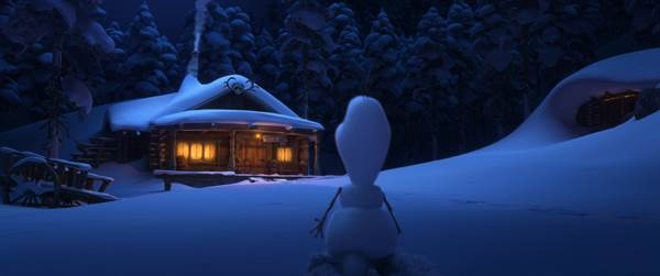 Once Upon A Snowman © Walt Disney Pictures. All Rights Reserved.