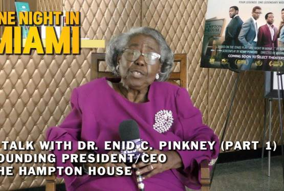 Dr Pinkney Interview (Part 1) 4K  | Hampton House