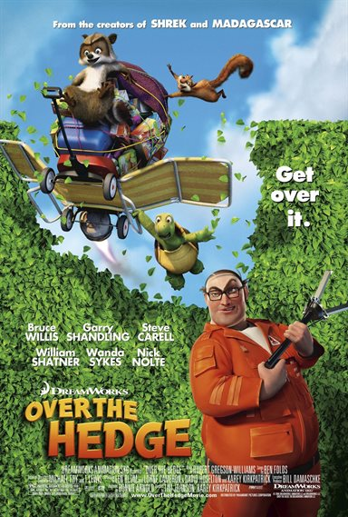 Over The Hedge © DreamWorks Animation. All Rights Reserved.