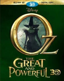 Oz the Great and Powerful 3D Blu-ray Review