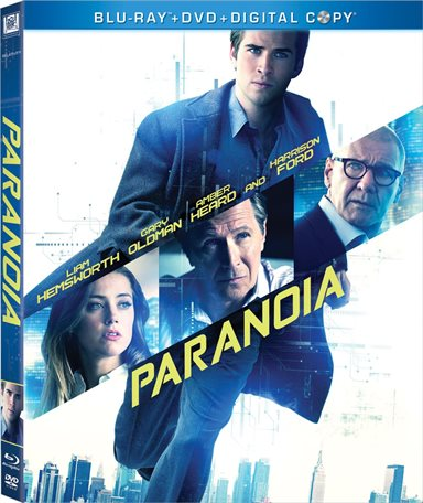 Paranoia Blu-ray Review