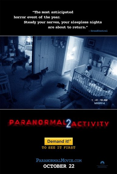 Paranormal Activity 2 Theatrical Review