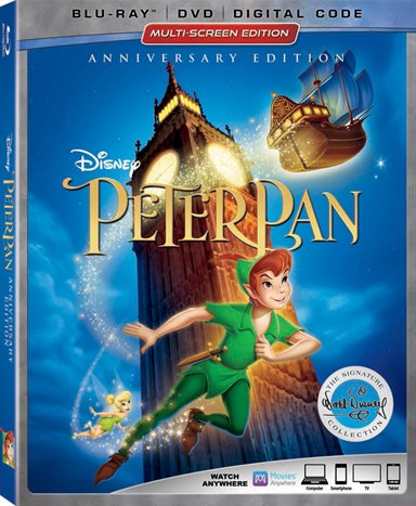 Peter Pan Anniversary Edition Blu-ray Review