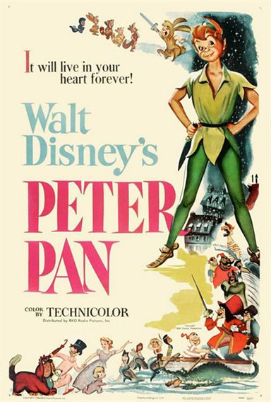 Peter Pan © Walt Disney Pictures. All Rights Reserved.
