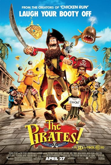 Pirates! Band of Misfits Theatrical Review