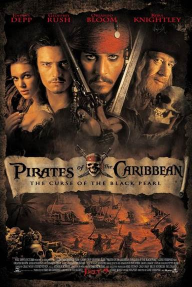 Pirates of The Caribbean: The Curse of The Black Pearl © Walt Disney Pictures. All Rights Reserved.