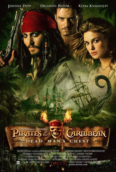 Pirates of The Caribbean: Dead Man's Chest © Walt Disney Pictures. All Rights Reserved.
