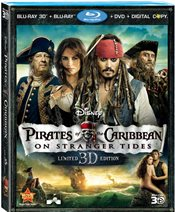 Pirates of The Caribbean: On Stranger Tides Blu-ray Review