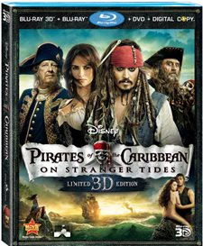 Pirates of the Caribbean: On Stranger Tides 3D Blu-ray Review