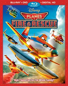 Planes: Fire & Rescue Blu-ray Review