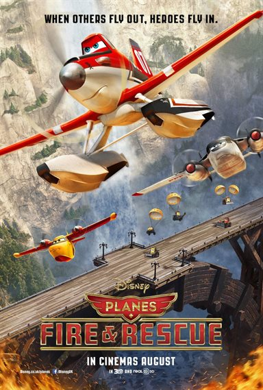 Planes: Fire & Rescue © Walt Disney Pictures. All Rights Reserved.