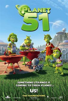 Planet 51 Theatrical Review