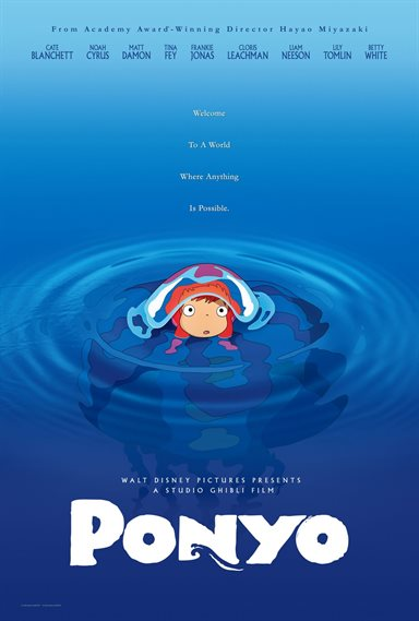 Ponyo © Walt Disney Pictures. All Rights Reserved.