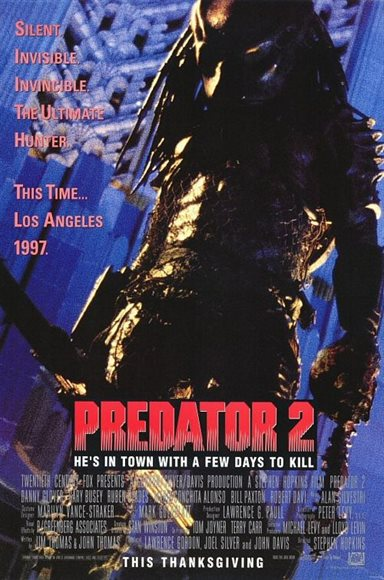 Predator 2 © 20th Century Fox. All Rights Reserved.