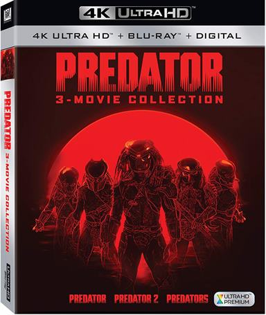 3-Movie Predator Collection 4K Ultra HD Review