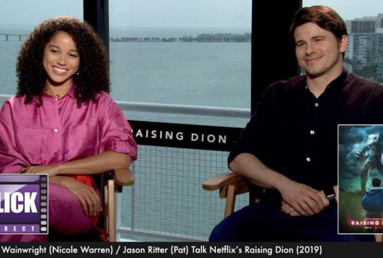 Raising Dion''s Alisha Wainwright and Jason Ritter Interview | NETFLIX