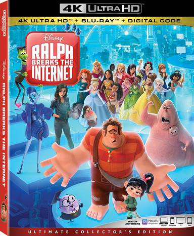 Ralph Breaks The Internet 4K Ultra HD Review