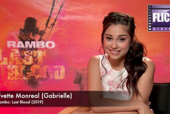 Yvette Monreal Talks Rambo: Last Blood and Stallone