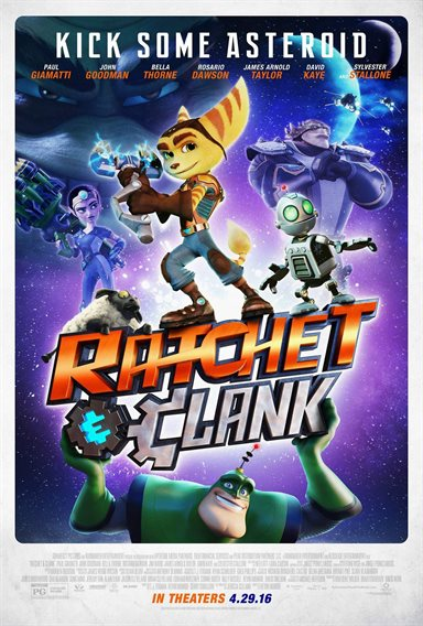 Ratchet and Clank © Columbia Pictures. All Rights Reserved.