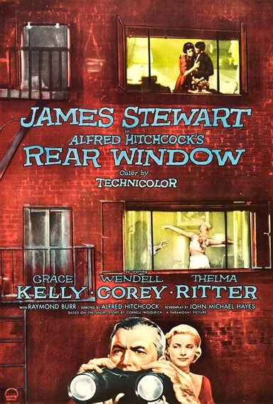 Rear Window © Paramount Pictures. All Rights Reserved.