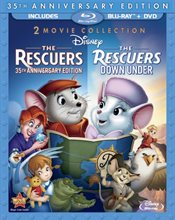 The Rescuers Blu-ray Review