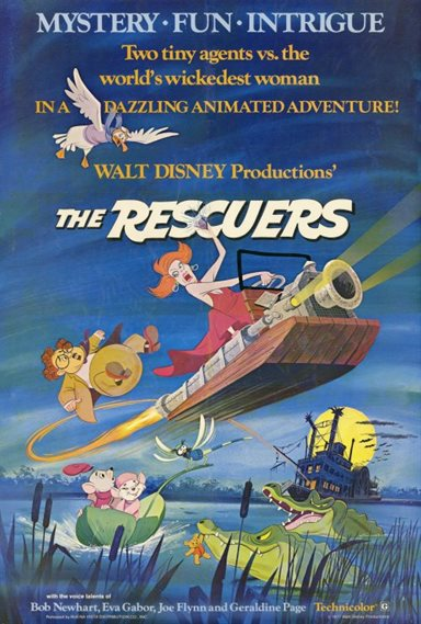 The Rescuers © Walt Disney Pictures. All Rights Reserved.