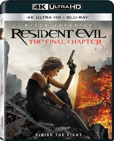 Resident Evil: The Final Chapter 4K Ultra HD Review
