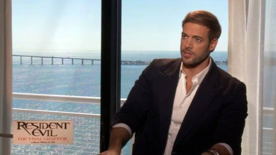 Resident Evil: The Final Chapter's William Levy Talks With FlickDirect's Emily Warburton-Adams