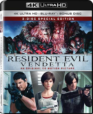 Resident Evil: Vendetta 4K Ultra HD Review