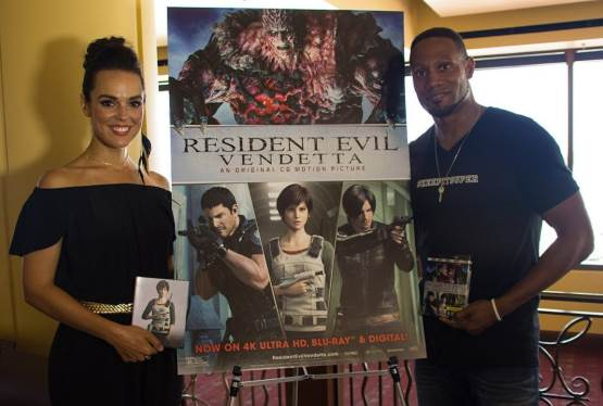 Resident Evil: Vendetta's Erin Cahill and Dante Carver Talk to FlickDirect