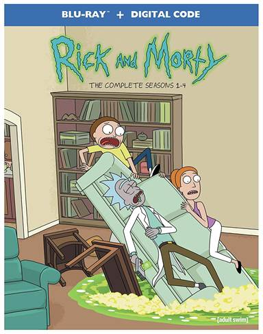 Rick and Morty: Seasons 1-4 Blu-ray Review