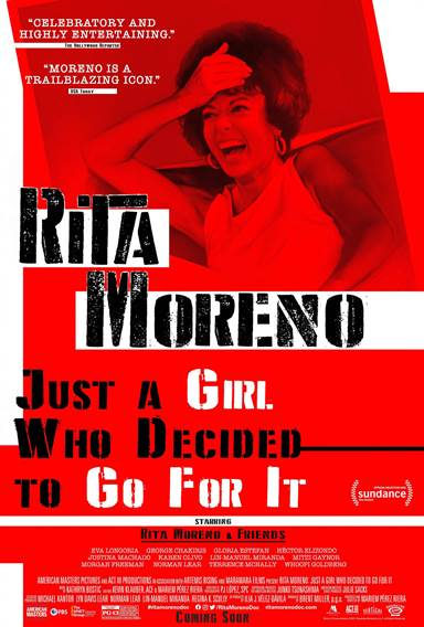 Rita Moreno: Just a Girl Who Decided to Go for It Theatrical Review