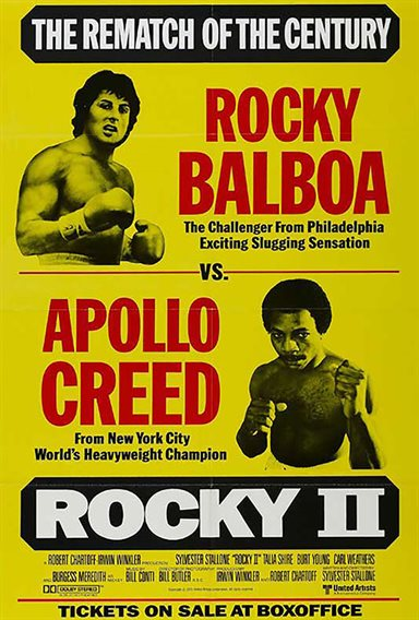 Rocky II © United Artists. All Rights Reserved.