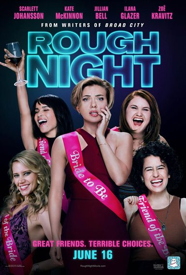 Rough Night © Columbia Pictures. All Rights Reserved.