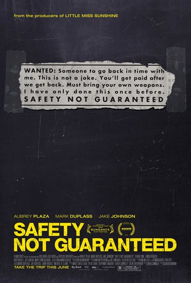 Safety Not Guaranteed © FilmDistrict. All Rights Reserved.