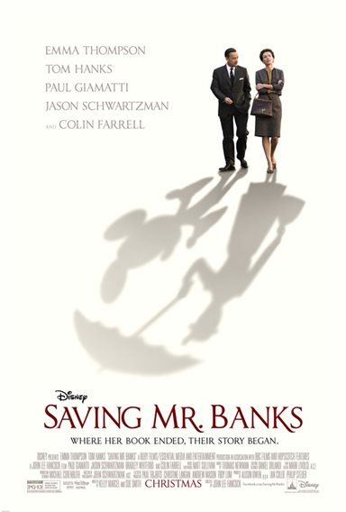 Saving Mr. Banks © Walt Disney Pictures. All Rights Reserved.