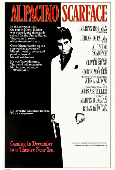 Scarface © Universal Pictures. All Rights Reserved.