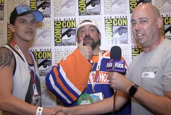 Kevin Smith and Jason Mewes, Comic Con 2015