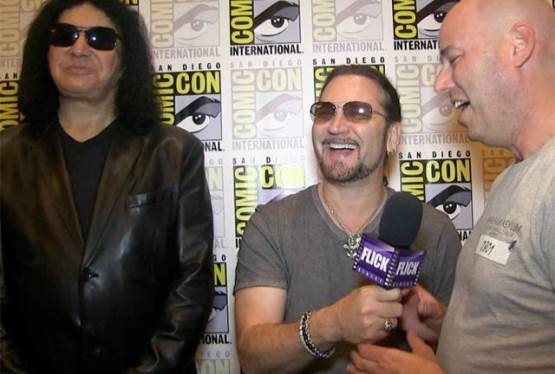 Gene Simmons and Eric Singer, Comic Con 2015