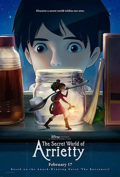 The Secret World of Arrietty © Walt Disney Pictures. All Rights Reserved.