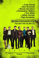 Seven Psychopaths Theatrical Review