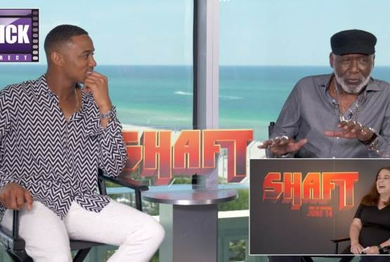 Richard Roundtree and Jesse T. Usher Discuss The Generations of Shaft