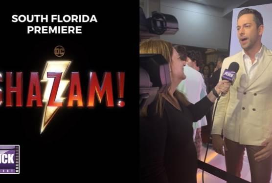 Shazam! South Florida Premiere | Zachary Levi and Cast Interviews