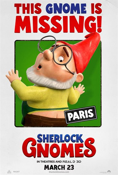 Sherlock Gnomes © Paramount Pictures. All Rights Reserved.