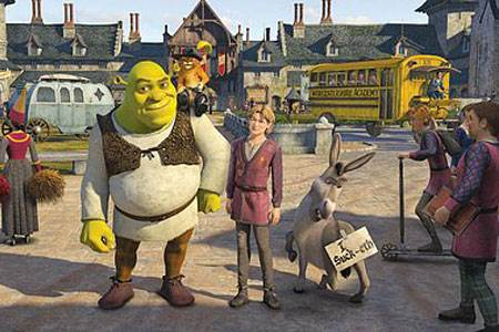 Shrek The Third © DreamWorks Animation. All Rights Reserved.