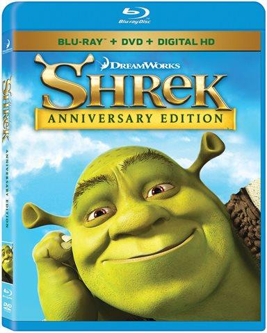 Shrek Anniversary Edition Blu-ray Review
