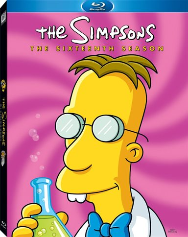 Simpsons: Season 16 Blu-ray Review