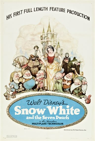 Snow White and the Seven Dwarfs © Walt Disney Pictures. All Rights Reserved.