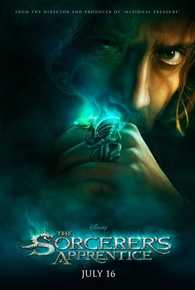 The Sorcerer's Apprentice © Walt Disney Pictures. All Rights Reserved.