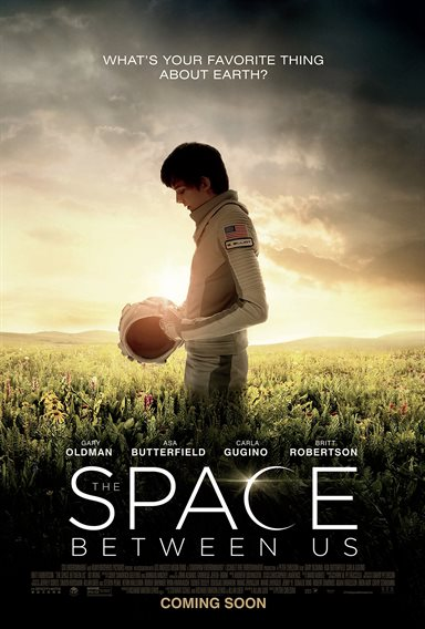 The Space Between Us © STX Entertainment. All Rights Reserved.
